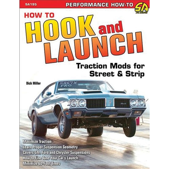 Book/Manual - How to Hook and Launch: Traction Mods for Street & Strip