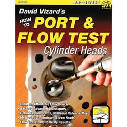 CarTech SA215 David Vizard's Port/Flow Test Cylinder Heads, Book