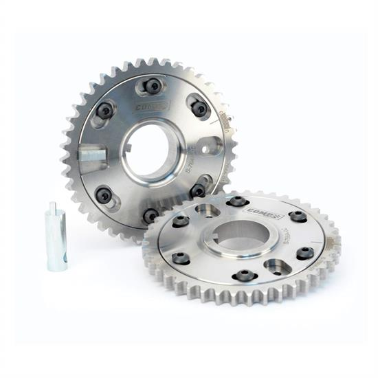 COMP Cams 10254 Adjustable Cam Gears, Steel, Ford, Pair