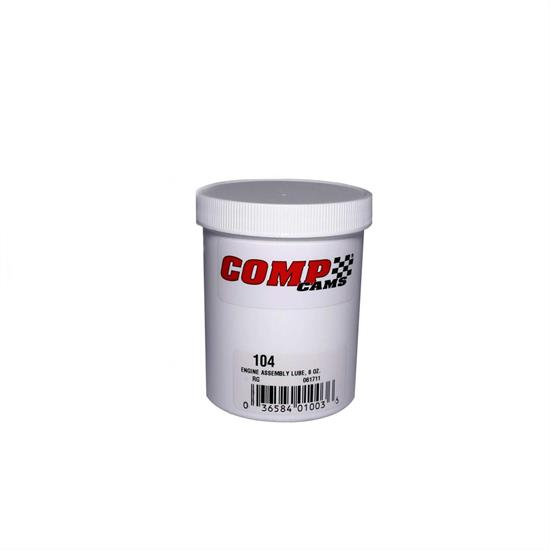 COMP Cams 104 Engine Assembly Lube, 8 oz. Tube
