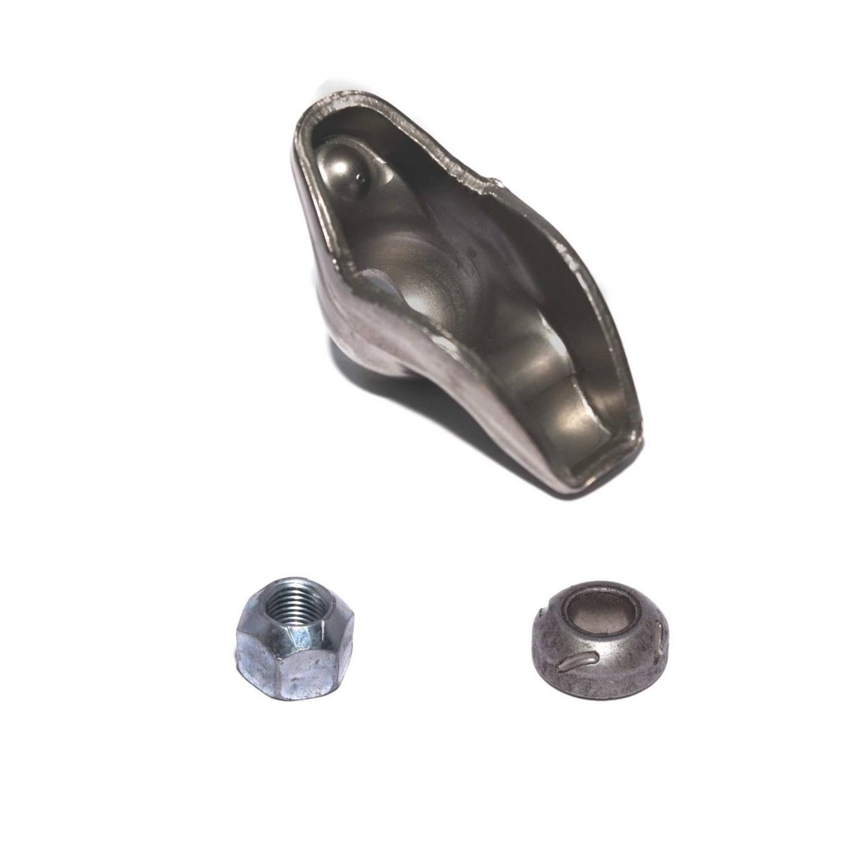 396 454 Big Block Chevy Steel Roller Tip Rocker Arms 1.7 Ratio 7//16 Lock Nuts
