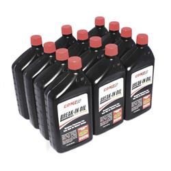 COMP Cams 1590-12 Engine Break-In Motor Oil, 10W30, 12 Quart Case