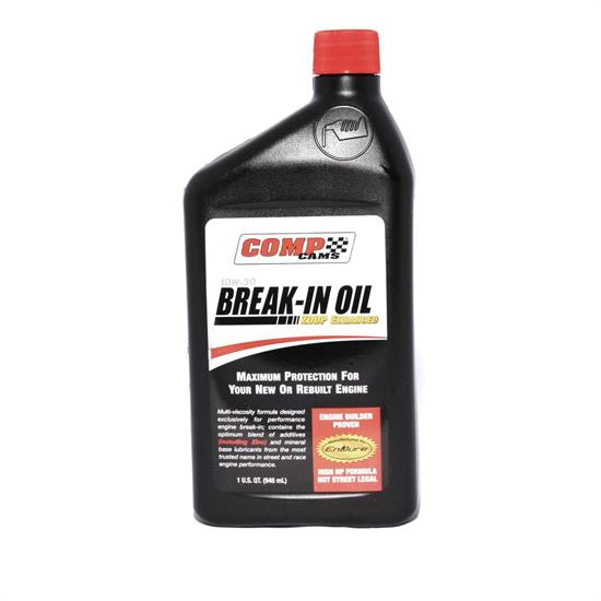 COMP Cams 1591 Engine Break-In Motor Oil, 15W50, Quart, Each