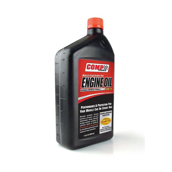COMP Cams 1594 Semi-Synthetic Motor Oil, 10W30, 1 Quart