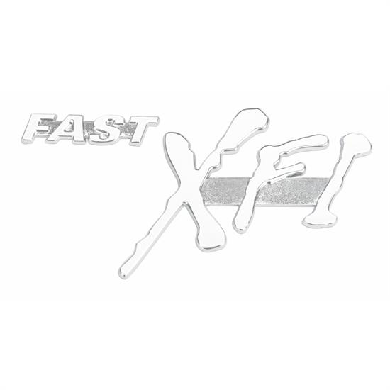 FAST 170656 FAST XFI Chrome Badge