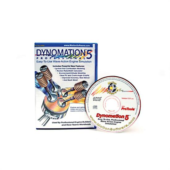 COMP Cams 181810 Dynomation Advanced Simulation Software, CD-ROM, PC