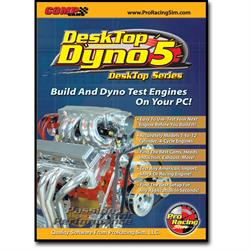 COMP Cams 186011 DeskTop Dyno5 ProRacing Engine Simulation Software
