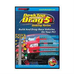 COMP Cams 186401 DeskTop Drag5 ProRacing Drag Race Simulation Software