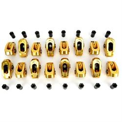 COMP Cams 19021-16 Ultra-Gold ARC Series Rocker Arms, Chevy 7/16-1.7