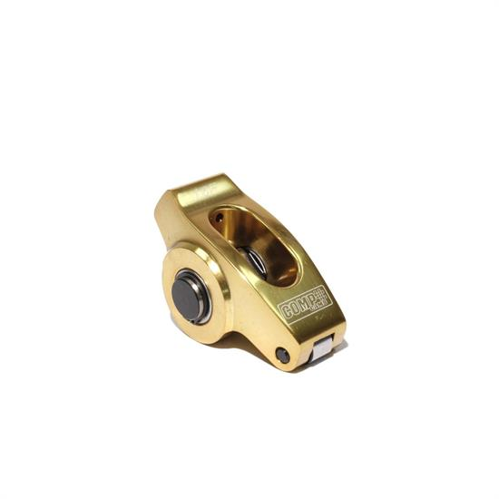 COMP Cams 19043-1 Ultra Gold Rocker Arm, Full roller, 3/8 Stud, Each