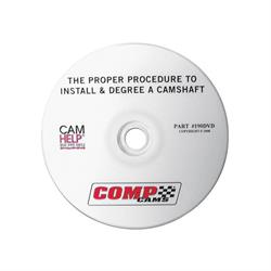 COMP Cams 190DVD - The Proper Procedure To Install & Degree A Camshaft