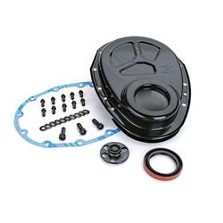 COMP Cams 208 1-Piece Thrust Plate Timing Cover Kit, Small Block Chevy