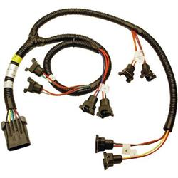 FAST 301201 XFI Fuel Injector Harness, SBC/BBC with 4/7 Swap Cam