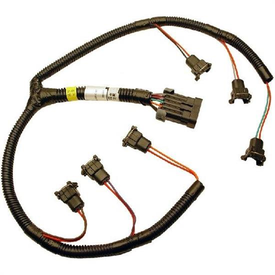 fast 301206 xfi fuel injector wiring harness buick v6 rh speedwaymotors com injector wiring harness for 2006 dodge diesel injector wiring harness 3502 edl