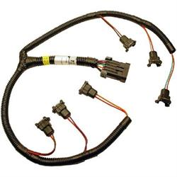 fast 301206 xfi fuel injector wiring harness, buick v6  speedway motors