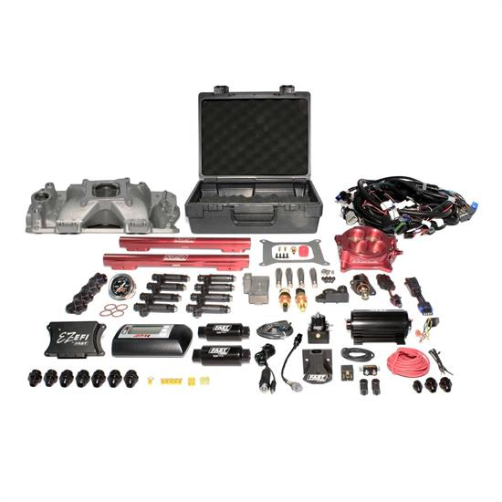 FAST 3012350-10E Complete EZ-EFI Kit, Small Block Chevy, Up to 1000HP