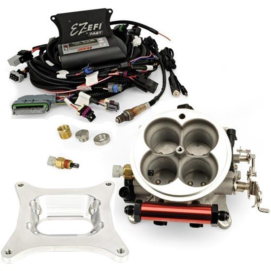 FAST 30295-06KIT EZ-EFI Fuel Injection Kit, Jeep 4 2L