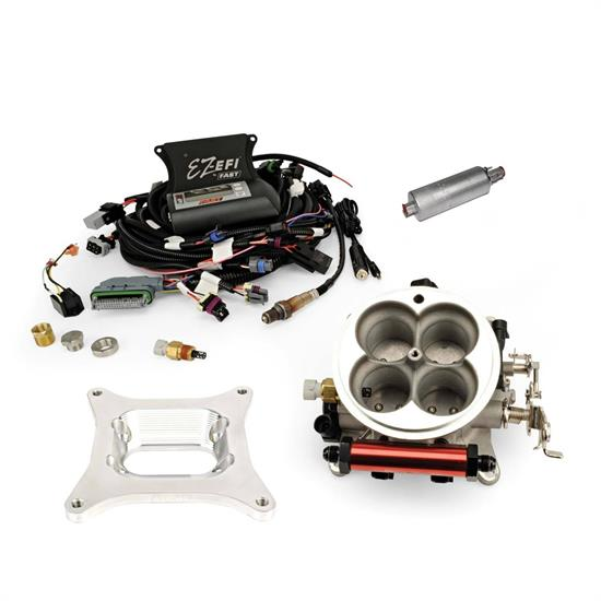 FAST 30296-KIT EZ-EFI In-Tank Fuel Injection Master Kit, Jeep