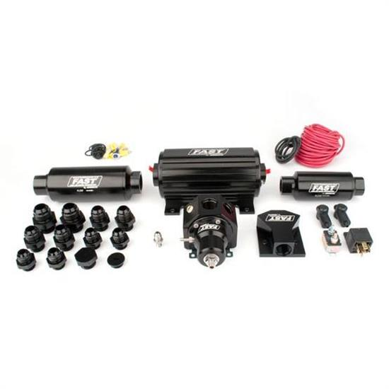 FAST 307501 Race Inline Fuel System, Up-to-1900 Naturally Aspirated HP