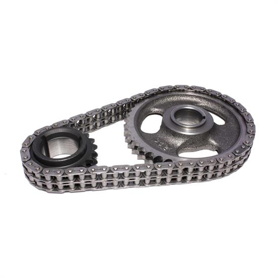 COMP Cams 3112 Hi-Tech Roller Race Timing Chain Set, Pontiac V8