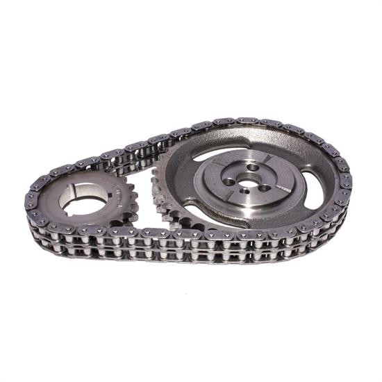 COMP Cams 3136 Hi-Tech Roller Race Timing Chain Set, Chevy V6/V8