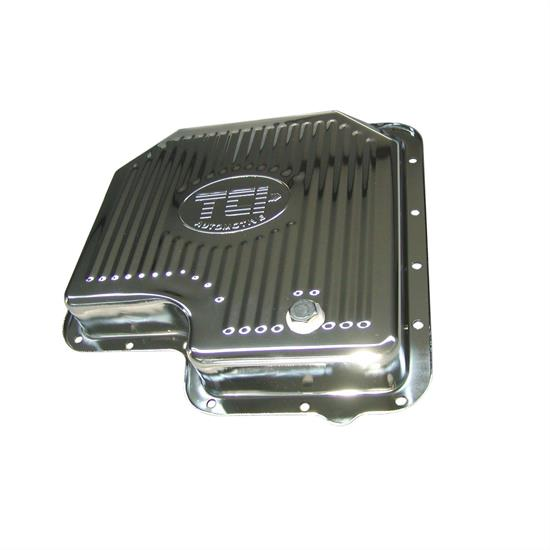 TCI 428011 Ford Chrome-Plated Stock Depth Pan