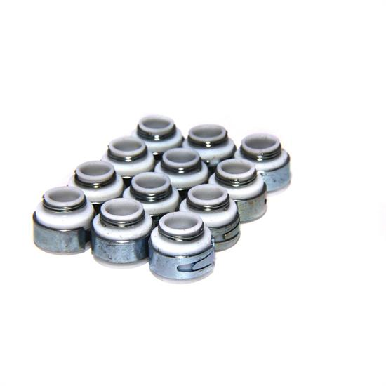 COMP Cams 503-12 Valve Stem Seals, PTFE, 32 Metal, Set of 12