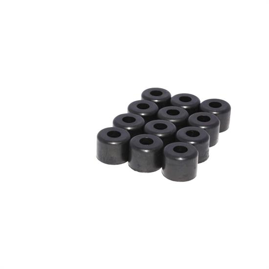 COMP Cams 504-12 Valve Stem Seals, Rubber, 3/8 Inch, Set of 12