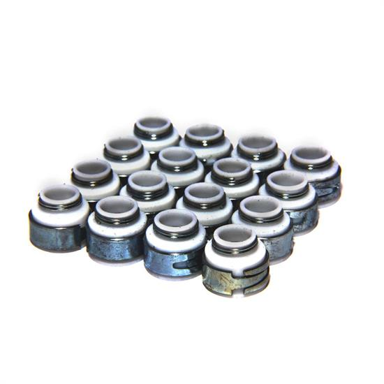 COMP Cams 505-16 Valve Stem Seals, PTFE, .530 Inch, 3/8 Inch, Set/16