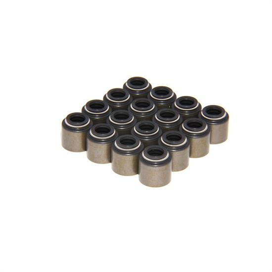COMP Cams 511-16 Valve Stem Seals, PTFE, .500 Inch, .313 Inch, Set/16