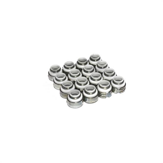 COMP Cams 512-16 Valve Stem Seals, PTFE, .500 Inch, 3/8 Inch, Set/16