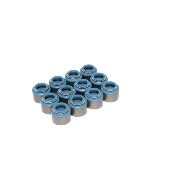 COMP Cams 514-12 Valve Stem Seals, PTFE, .500 Inch, 3/8 Inch, Set/12