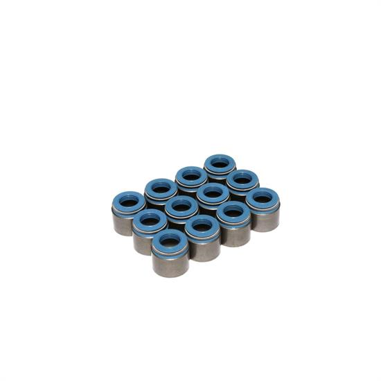 COMP Cams 518-12 Valve Stem Seals, PTFE, .530 Inch, .342 Inch, Set/12