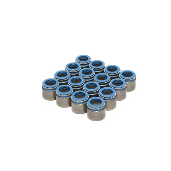 COMP Cams 522-16 Valve Stem Seals, PTFE, .530 Inch, Set of 16