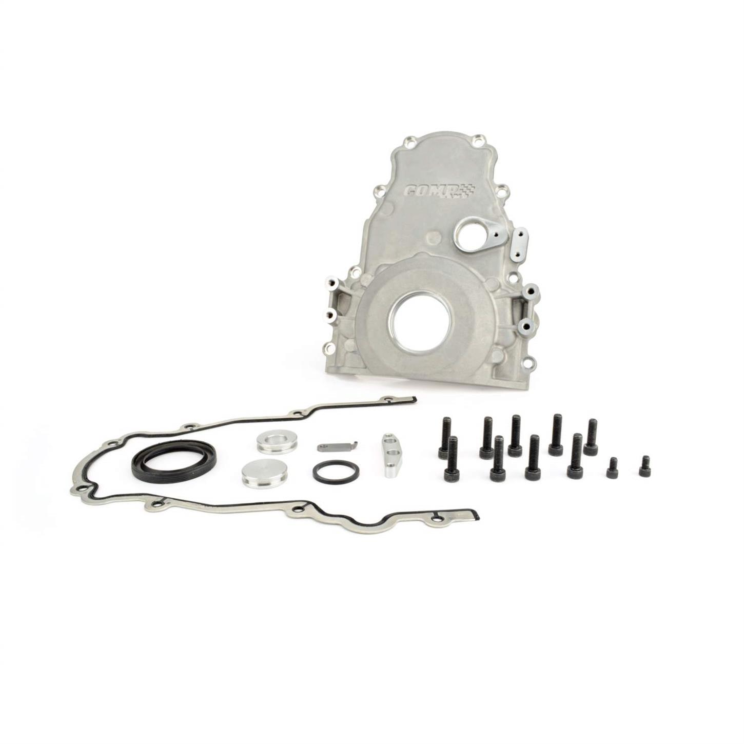 COMP Cams 5496 LSTiming Cover Kit, One-Piece Aluminum, Chevy LS