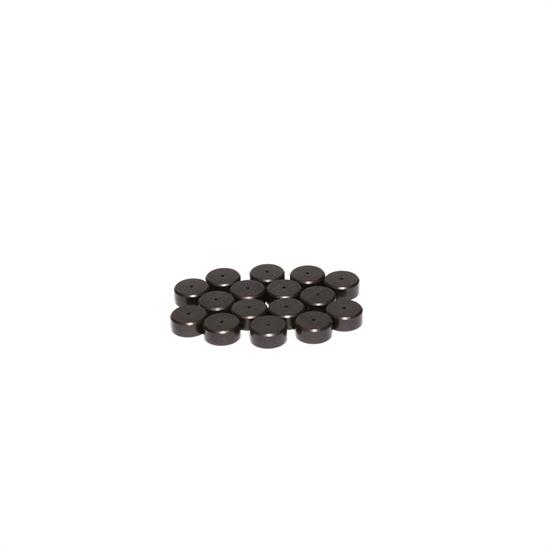 COMP Cams 622-16 Steel Valve Lash Caps, 3/8, .080 Inch, Set of 16