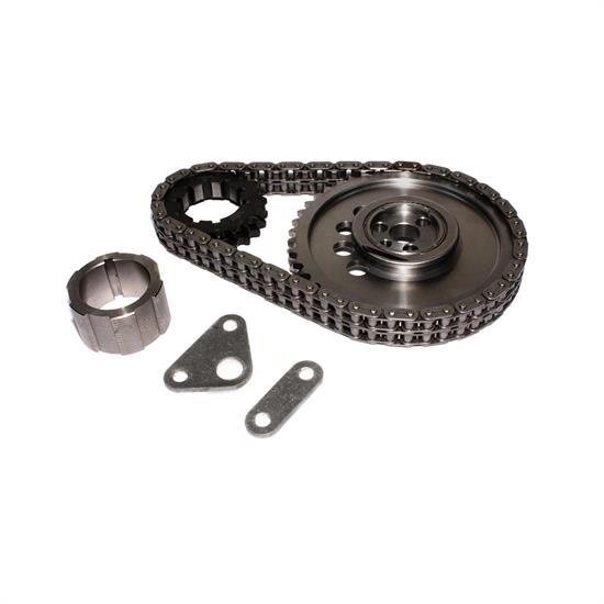 COMP Cams 7102 Keyway Adjust. Billet Timing Chain Set, Chevy 6.0 LS2