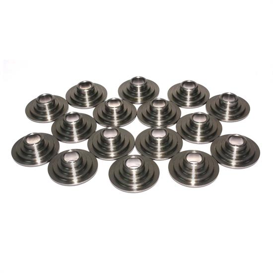 COMP Cams 735-16 Titanium Valve Spring Retainers, 10 Degree, Set of 16
