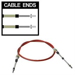 TCI Automotive 840400 Shifter Cable, 2 Inch Stroke, 4 Foot