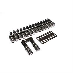 COMP Cams 873-16 Endure-X Lifters, Solid roller, Chevy, Set