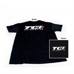 TCI 950256 Black TCI Logo T-Shirt 2X Large