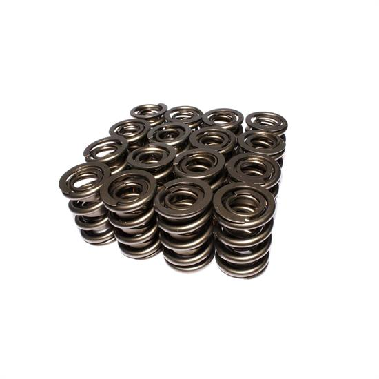 COMP Cams 999-16 Valve Springs, Dual, 633 lb Rate, Set of 16