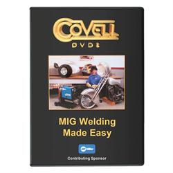 Covell Metalworking 1000-22 DVD - MIG Welding