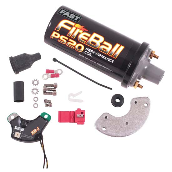 FAST 7501715 1957-74 Chevy V8 XRi Points Electronic Ignition Conversion Kit
