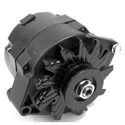 GM 10SI 1 Wire Alternator, 110 Amp, Black