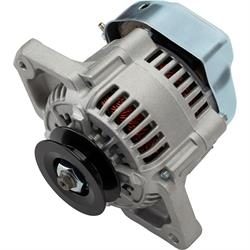 GM Denso Style 1-Wire Mini Race Alternator, 90 Amp