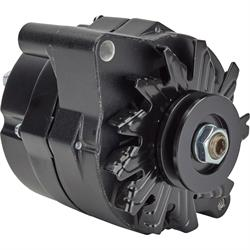 Ford 1G Style 110 Amp 1 Wire Alternator, Black
