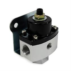 Speedway Fuel Pressure Regulator, 5-12 PSI, Aluminum