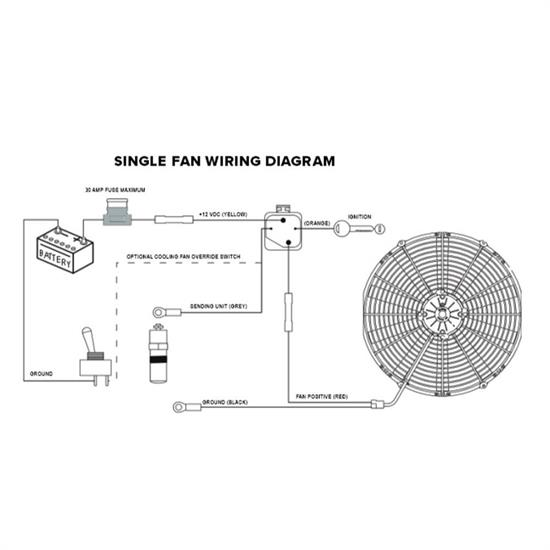 Wiring Diagram For Aftermarket Cooling Fan