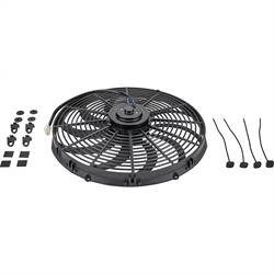 Speedway Universal Electric Radiator Cooling Fan, 16 Inch